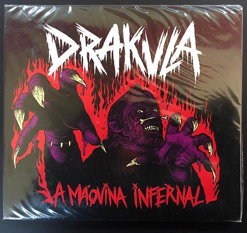 CD Drakula - A Máquina Infernal - Lacrado - Digipack