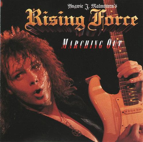 CD Yngwie J. Malmsteen's Rising Force - Marching Out - Importado - Lacrado