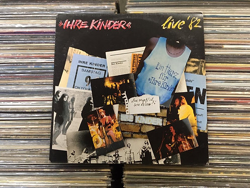 LP Ihre Kinder - Live '82 - Importado - Com Encarte
