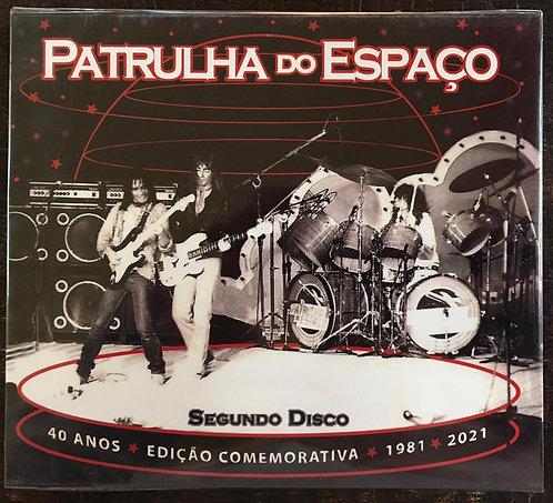 CD Patrulha Do Espaço - Segundo Disco 40 Anos - Slipcase - Lacrado