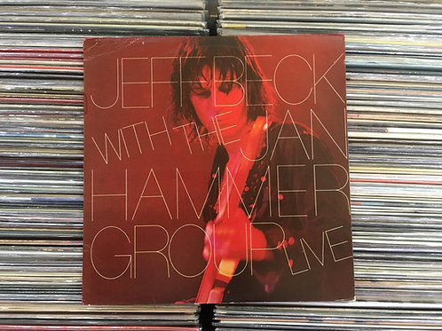 LP Jeff Beck With The Jan Hammer Group - Live