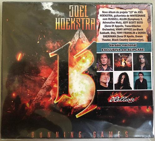 CD Joel Hoekstra's 13 - Running Games - Slipcase - Lacrado