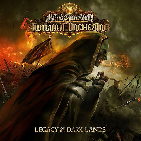 CD Blind Guardian - Legacy Of The Dark Lands - Duplo - Lacrado