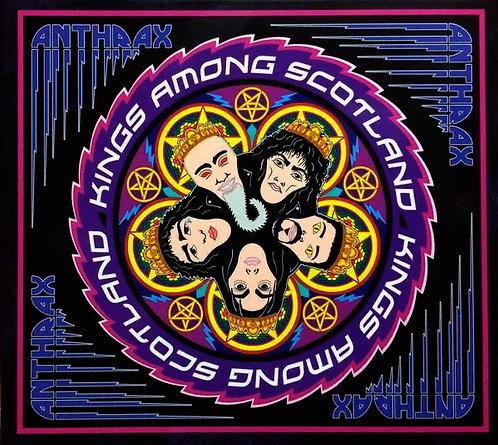 CD Anthrax - Kings Among Scotland - Duplo - Lacrado