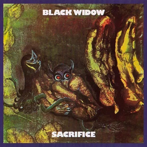 CD Black Widow - Sacrifice - Importado - Lacrado