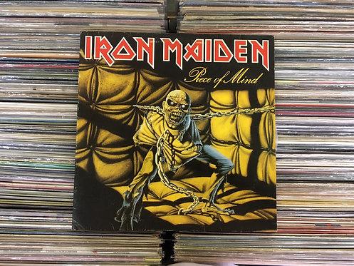 LP Iron Maiden - Piece Of Mind - Capa Dupla