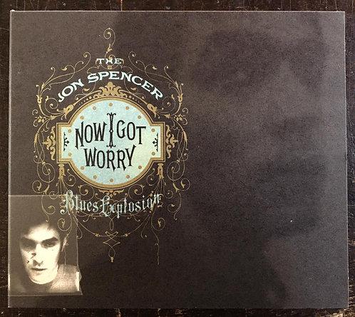 CD The Jon Spencer Blues Explosion - Now I Got Worry - Importado - Digipack