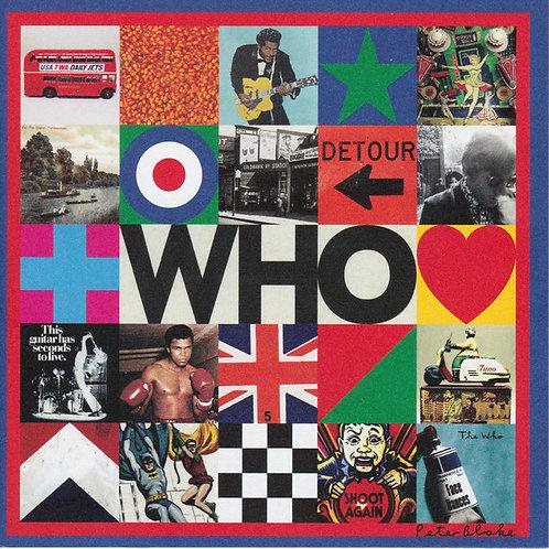 CD The Who - Who - Importado - +Bônus - Lacrado