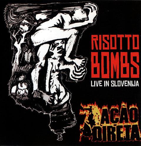CD Ação Direta - Risotto Bombs Live In Slovenia - Lacrado