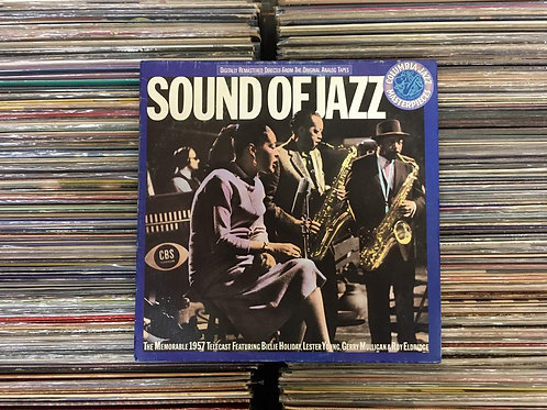 LP The Sound Of Jazz - Billie Holiday, Lester Young, Gerry Mulligan & Roy E...