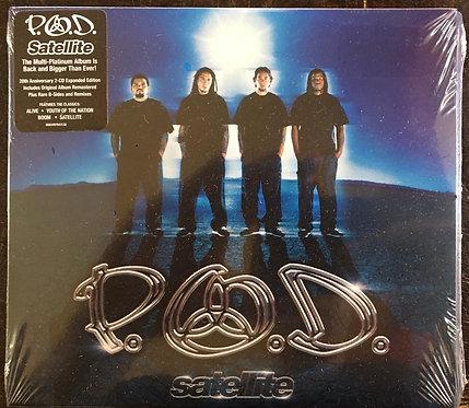 CD P.O.D. - Satellite (20th Anniversary Edition) - Duplo - Digipack - Lacrado