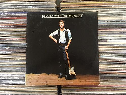 LP Eric Clapton - Just One Night - Duplo - Capa Dupla