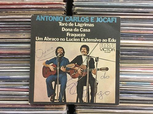 Compacto Antonio Carlos E Jocafi - Toró de Lágrimas / Dona Da Casa / Fraqueza...