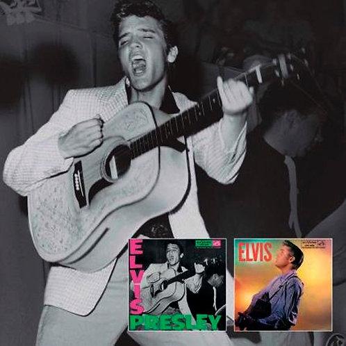 CD Elvis Presley - Elvis Presley / Elvis - Duplo - Lacrado