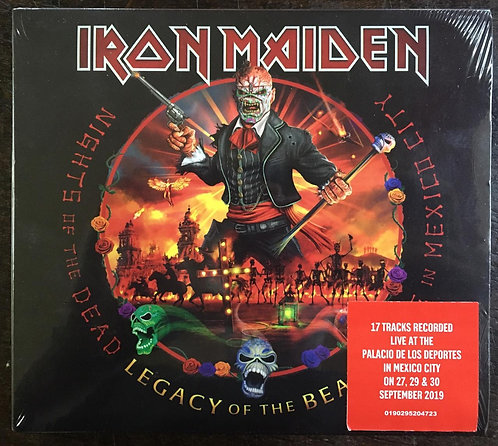 CD Iron Maiden - Legacy Of The Beast - Live In Mexico City - (Duplo) - Lacrado