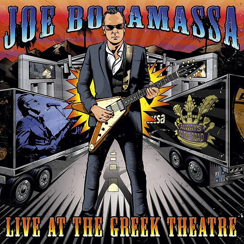 CD Joe Bonamassa - Live At The Greek Theatre - Duplo - Lacrado