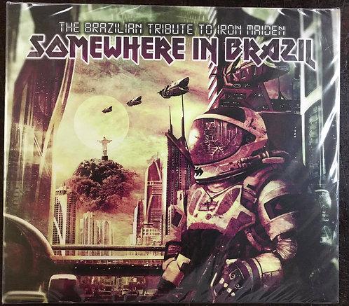 CD The Brazilian Tribute To Iron Maiden- Somewhere In Brazil - (Duplo) - Lacrado