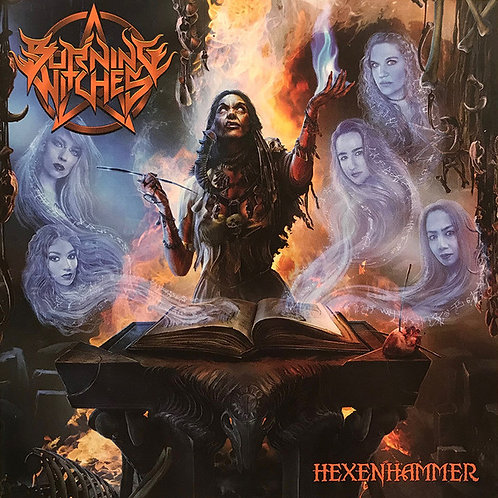 CD Burning Witches - Hexenhammer - Lacrado