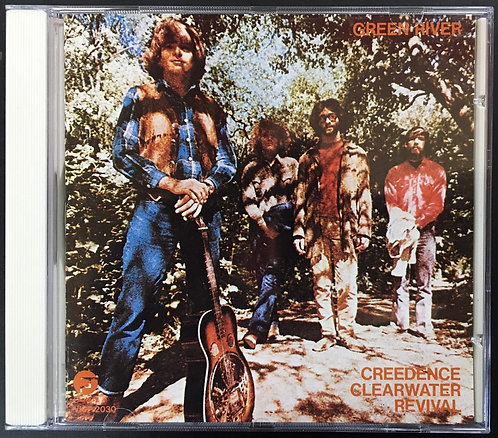 CD Creedence Clearwater Revival - Green River - Japonês