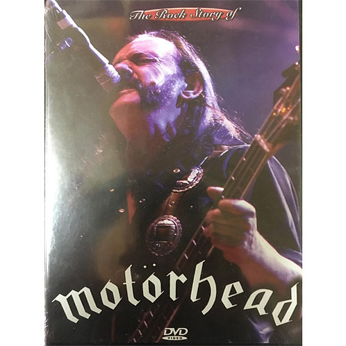 DVD Motörhead - The Rock Story Of - Lacrado