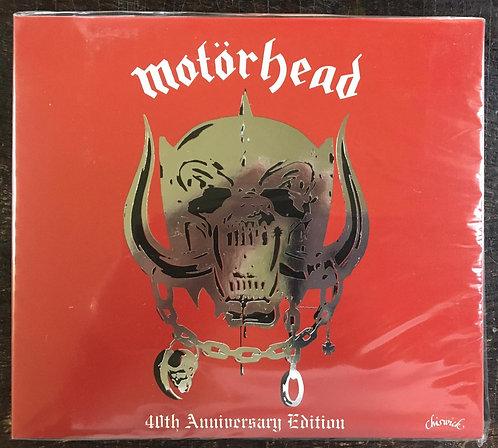 CD Motörhead - Motörhead 40th Anniversary Edition - Lacrado - Digipack