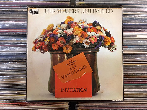 LP Art Van Damme & The Singers Unlimited - Invitation - Imp