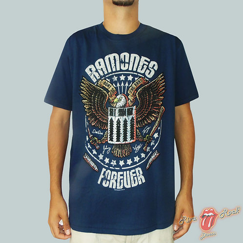 Camiseta Ramones - Forever - Stamp