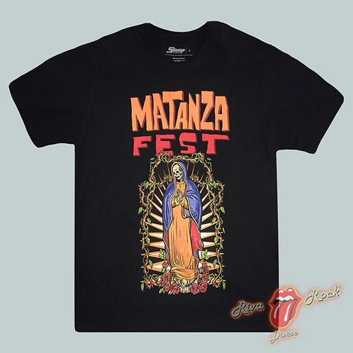 Camiseta Matanza - Matanza Fest - Stamp