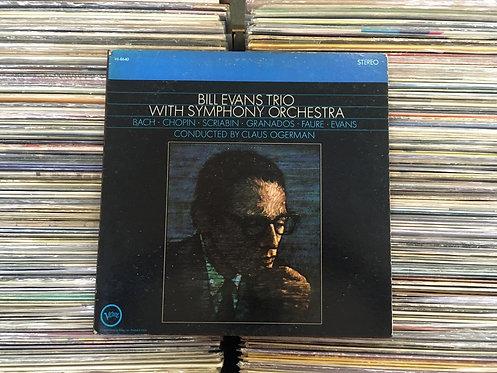 LP Bill Evans - Bill Evans Trio With Symphony Orchestra - Importado