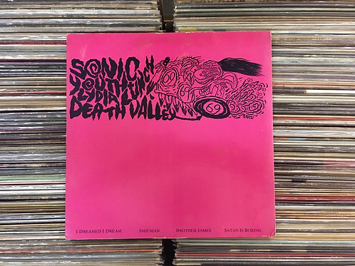 LP Sonic Youth / Lydia Lunch - Death Valley '69 - Importado - EP