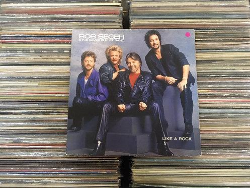 LP Bob Seger & The Silver Bullet Band - Like A Rock