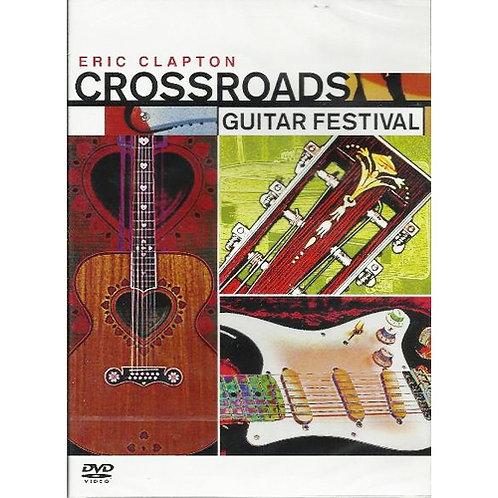 DVD Eric Clapton - Crossroads Guitar Festival 2004 - Importado - Duplo - Lacrado