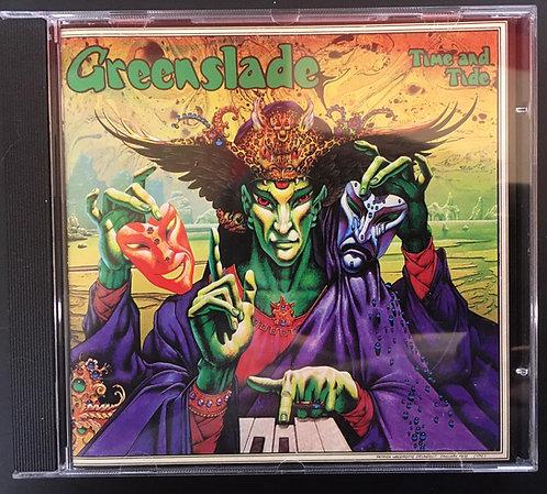 CD Greenslade - Time And Tide - Japonês