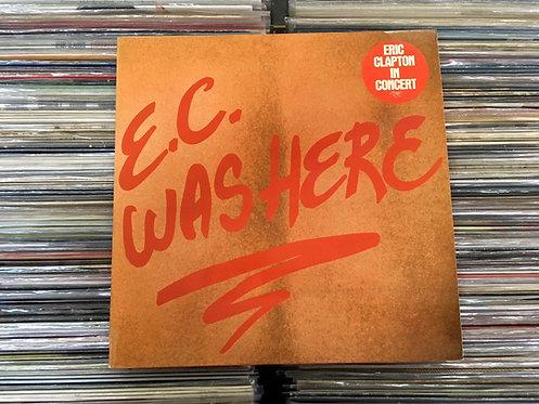 LP Eric Clapton - E.C. Was Here - Importado