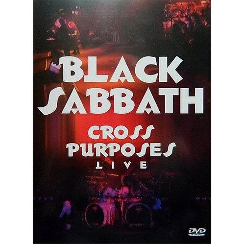 DVD Black Sabbath - Cross Purposes Live - Lacrado