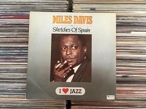 """LP Miles Davis - Sketches Of Spain - Serie """"I Love Jazz"""""""