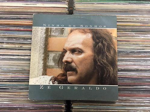 LP Zé Geraldo - Ninho De Sonhos - C/ Encarte