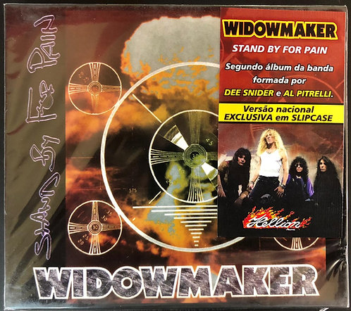 CD Widowmaker - Stand By For Pain - Slipcase - Lacrado