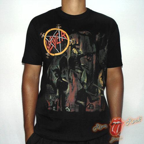 Camiseta Slayer - Reign in Blood - Stamp