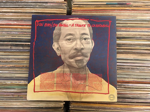LP Don Byas & Bud Powell - A Tribute To Cannonball - Importado