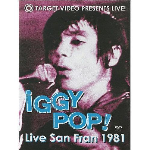 DVD Iggy Pop - Live San Fran 1981 - Lacrado