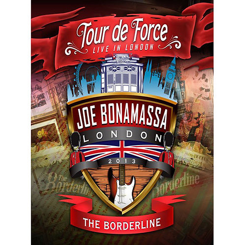 DVD Joe Bonamassa - Tour De Force - Live In London - The Borderline - Lacrado