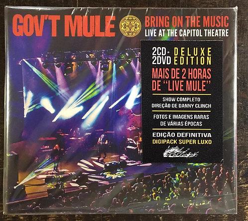 CD Box Gov't Mule - Bring On The Music - (2 Cds + 2 Dvds) - Lacrado