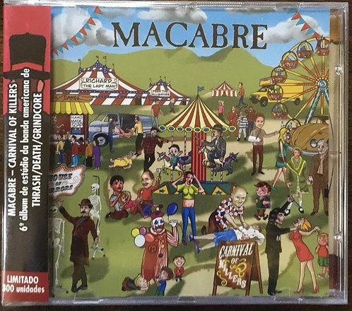 CD Macabre - Carnival Of Killers - Lacrado