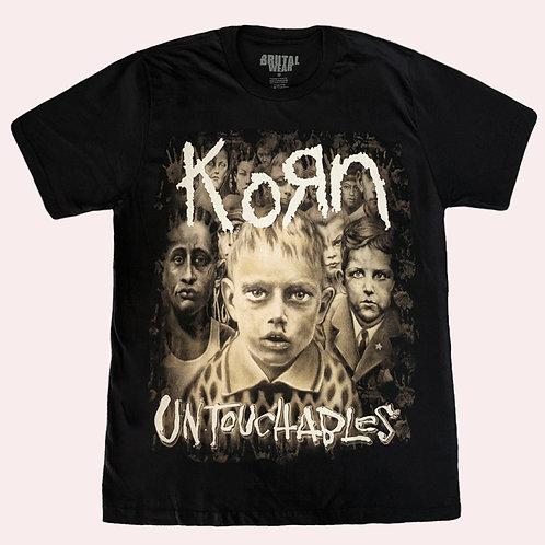 Camiseta Korn - Untouchables - Brutal