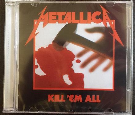 CD Metallica - Kill 'em All - Lacrado