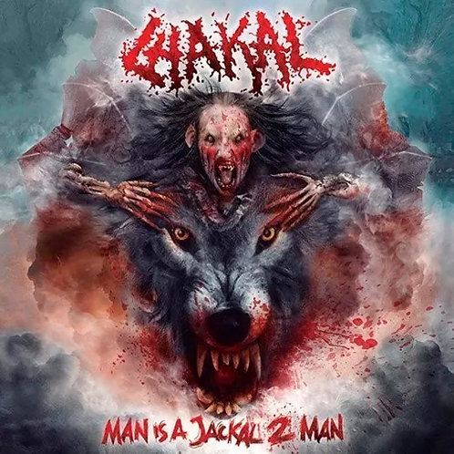 CD Chakal - Man Is A Jackal 2 Man - Digipack - Lacrado