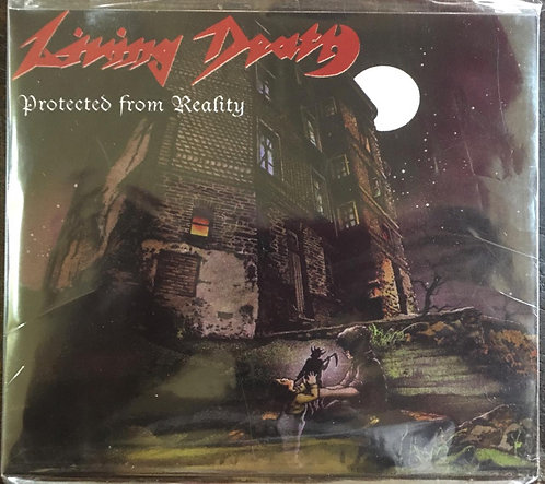CD Living Death - Protected From Reality - Slipcase - Lacrado
