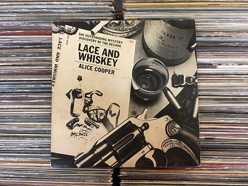 LP Alice Cooper - Lace And Whiskey - Importado