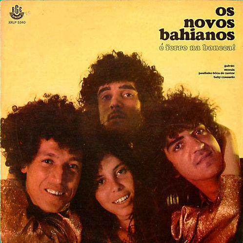 CD Os Novos Bahianos - É Ferro Na Boneca! - Lacrado